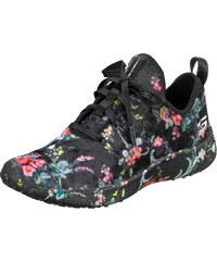 598ceb3024 Šnurovacia obuv Skechers čierna-kvetinová