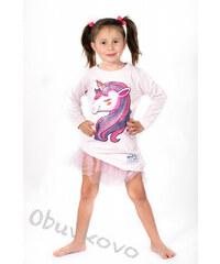 75625a7e6a76 All for kids Dievčenská tunika šaty s bábiko LOL MM 575 pony