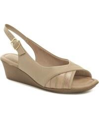 7db39aae0b8a Piccadilly 153029 béžové dámske sandále na kline