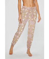 De Lafense Női szatén pizsama Classic hosszú rózsaszín - Glami.hu d4816e6776