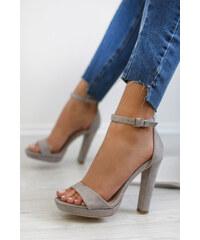 5e2aeb694659 Belle Women Sivé sandále Rebecca
