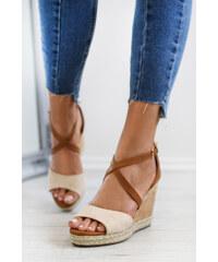 c445de787a19 Belle Women Béžové platformové sandále Roxy
