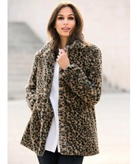 0acfa86a0a Vypredaj-zlavy.sk Kabát s potlačou zvieracej srsti leopardí