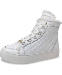 Guess Lapos talpú cipő FLMEE4LEA12 - Fehér 5509b2567e