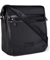 96cd45c1c4 Pánská taška přes rameno Hexagona D72278 černá