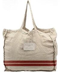 b99f9a404d Linen Couture Látková taška Linen Red Stripes