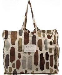e464231fb5 Linen Couture Látková taška Linen Geometric