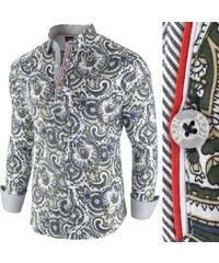 1dee5f05799c Seraph Vzorovaná košeľa Flexible Latin Soul biela