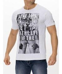 Pánské tričko s potiskem Smith & Jones - světle šedé
