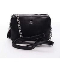 47805d2060 Malá elegantná a moderná crossbody kabelka čierna - David Jones Melany  čierna