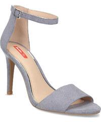 0cf4c5d2ba6f Bata Red Label Modré dámske sandále na ihličkovom podpätku