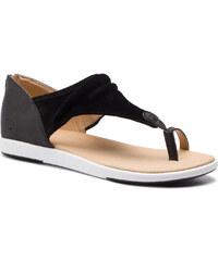 043123529f57 Emu Australia Emu čierne topánky na kline Allamanda Palm Black Palm ...