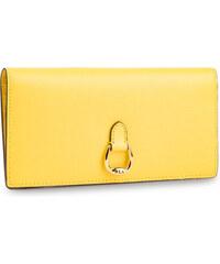 187e6e1687 Nagy női pénztárca LAUREN RALPH LAUREN - Bennington 432688519016 Lemon Sorb