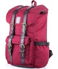 5f6e30998f Vodotesný bordó športový batoh SOLIER S13 (SV01 BURGUNDY)