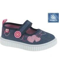 5b3081193 Beppi Dievčenské voňavé sandále s Jahôdkou - modré - Glami.sk
