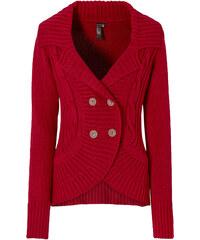 BODYFLIRT boutique Strickjacke langarm in rot für Damen von bonprix