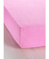 bpc living Spannbettlaken Frottier in rosa von bonprix