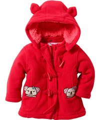 bpc bonprix collection Baby Fleecejacke langarm in rot für Damen von bonprix