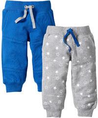 bpc bonprix collection Baby Sweathose (2er-Pack) Bio-Baumwolle in blau von bonprix