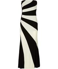 Kleid ohne Ärmel in schwarz von bonprix