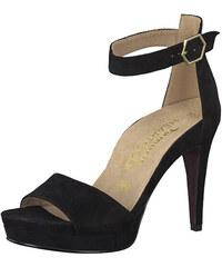 994fce7499 Tamaris Dámske sandále 1-1-28377-22-004 Black Suede