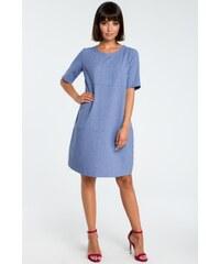 f1ce9e9da9 BeWear Hétköznapi ruha GLB-b082_blue_els Kék
