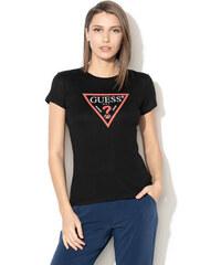 eac4551306 GUESS dámské tričko černé