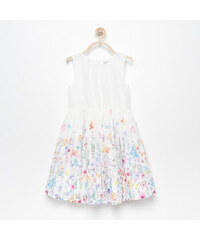 96bab795db73 Reserved - Kvetované šaty - Biela