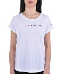 4e93d6d6b4 Tommy Hilfiger Dámske tričko Tommy Original Rn Tee Ss Logo UW0UW01618-100  White