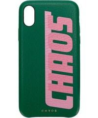 9233f32a2e48 Chaos graphic print iPhone X case - Green