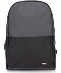 405c67441e Čierno-šedý batoh SOLIER (sr01 BLACK   grey)