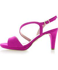 ff4a0fe64db8 Tamaris Fuchsiové sandále 1-28318