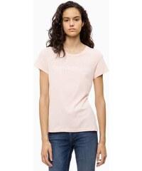 e34ed8e195 Calvin Klein dámské tričko světle růžové