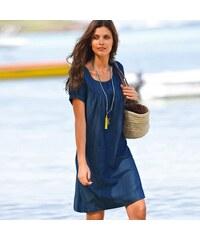 dc5d6c65f2c6 Blancheporte Džínové šaty modrá