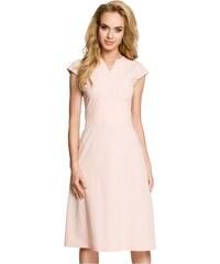 028c4104c275 Moe Dámské denní šaty Moe 93508 světle růžové - růžová