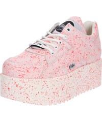 41d5171ee0dd Buffalo London Kotníkové tenisky  1330-6  pink   bílá