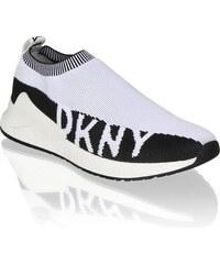 9771e9f6e216 Vínové tenisky na plnom podpätku DKNY Cosmos - Glami.sk