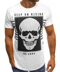 Čierno-biele pánske tričko s potlačou VANS New Raglan - Glami.sk 42d18522e8d