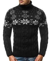 58f743fe923e Swetry Swiateczne Pánsky vianočný sveter so sobom Christmas Reindeer  čierny. Veľkosť len L. Detail produktu. Buďchlap JEDINEČNÝ ČIERNY SVETER  MAD 2808