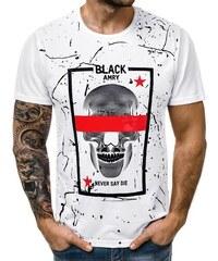 8caae65f2d6e Biele Pánske tričká a tielka z obchodu Budchlap.sk
