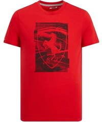 bc69bfabc3 Branded Ferrari pánske tričko red Collage F1 Team 2019