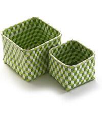 f248734c9 Sada 2 zelených košíků Versa Baskets Small