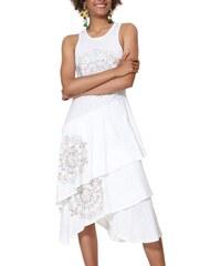 d38750996584 Desigual bílé šaty Vest Chelsea