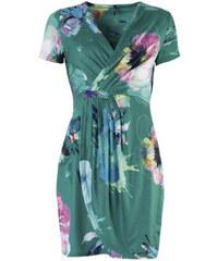 0f019b3226a8 SMASH dámské šaty Okaina s květinovým potiskem zelené