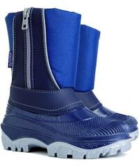 bcd5b7849928 DEMAR - Detské zimné snehule CRISTAL 1351 modrá