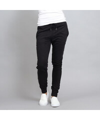 Urban Classics Ladies Fitted Slub Terry Pants černé 6ef0f040916