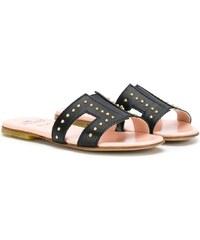 db52f5b90c62 Elisabetta Franchi La Mia Bambina stud-embellished sandals - Black