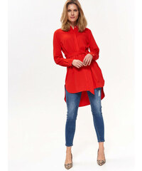 ab020df7153a Top Secret LADY S SHIRT LONG SLEEVE Red