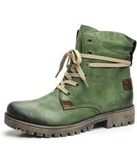 da928039a7c4 Dámska obuv značky Rieker zelenej farby