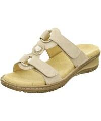 1deb5fb35f8ae Dámske otvorené sandále na platforme značky Ara - biela káva
